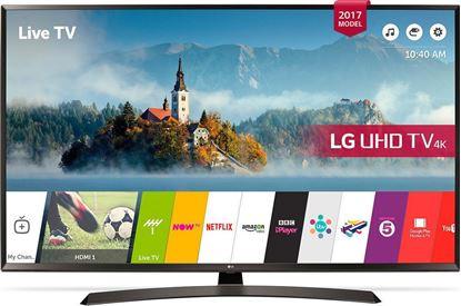Εικόνα της Τηλεόραση  LG 60UJ634V Ultra HD Smart LED