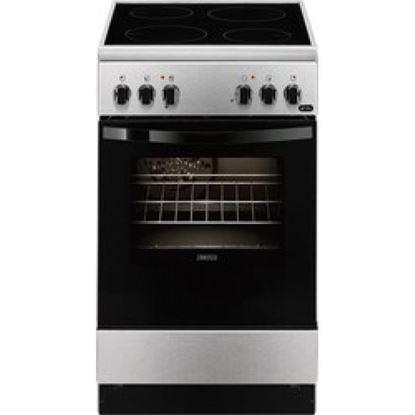 Εικόνα της Zanussi ZCV550G1XA Ηλεκτρική Κεραμική Κουζίνα