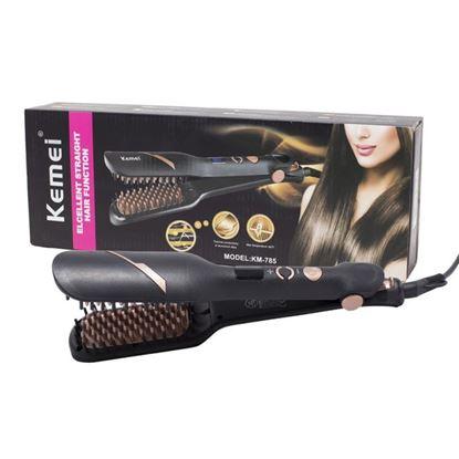 Εικόνα της Kemei KM-785 Συσκευή Ισιώματος με Κεραμικές Πλάκες με τουρμαλίνη